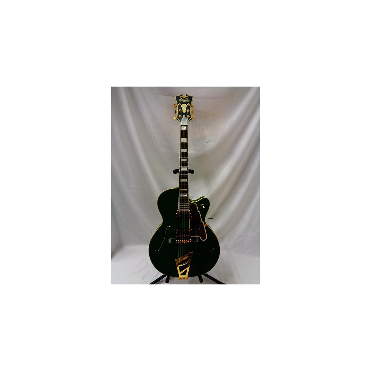 D'Angelico Deluxe Series DH Hollowbody Hollow Body Electric Guitar