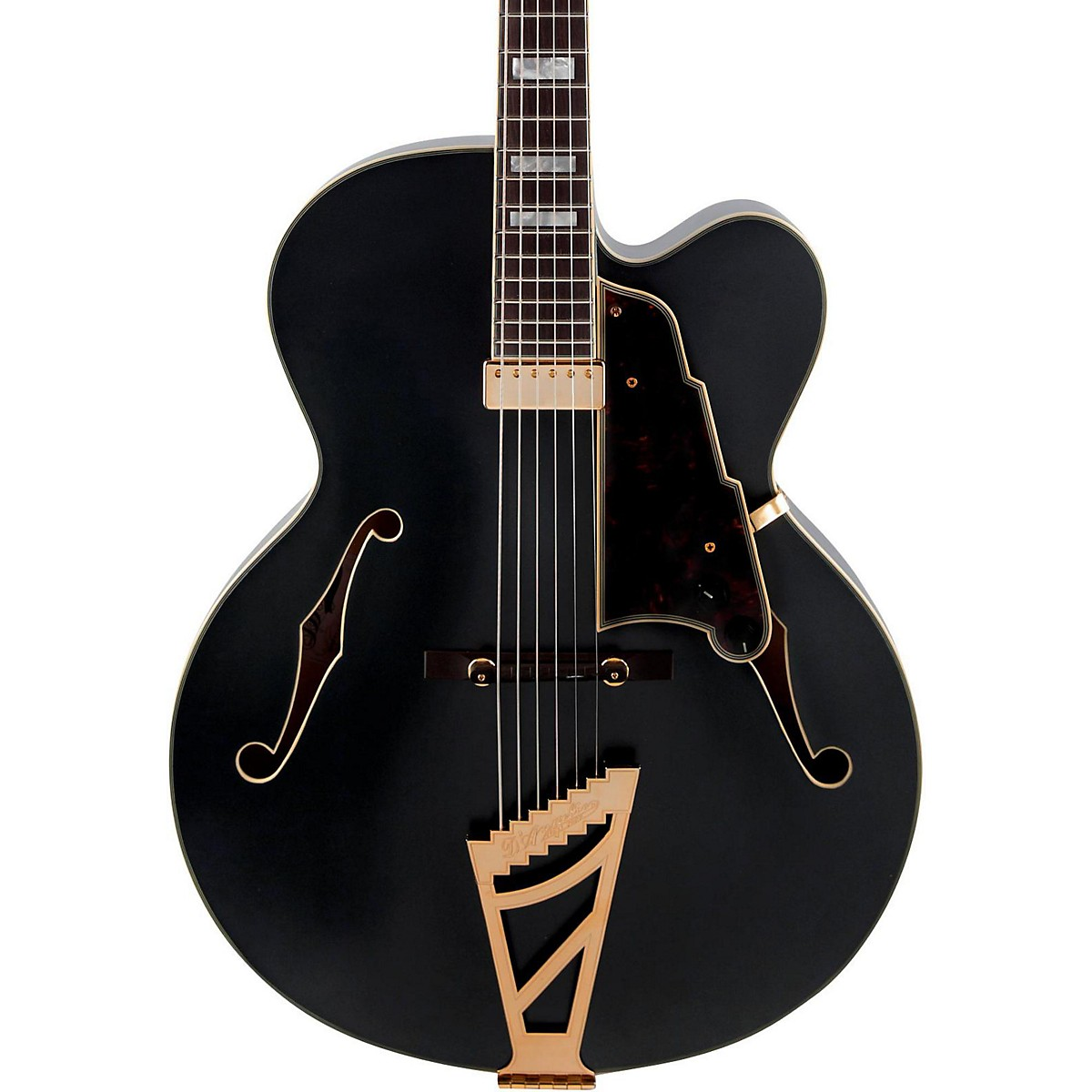 D'Angelico Deluxe Series EXL-1 Hollowbody Electric Guitar with Seymour Duncan Floating Pickup and Stairstep Tailpiece