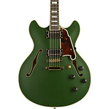 Deluxe Series Limited Edition DC Semi-Hollowbody Electric Guitar Matte Emerald Tortoise Pickguard