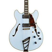 D'Angelico Deluxe Series Limited Edition DC  Semi-Hollowbody Electric Guitar with Custom Seymour Duncan Pickups and Stairstep Tailpiece