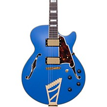 Deluxe Series Limited Edition EX-SS with Stairstep Tailpiece Hollowbody Electric Guitar Level 2 Royal Blue, Tortoise Pickguard 190839602695