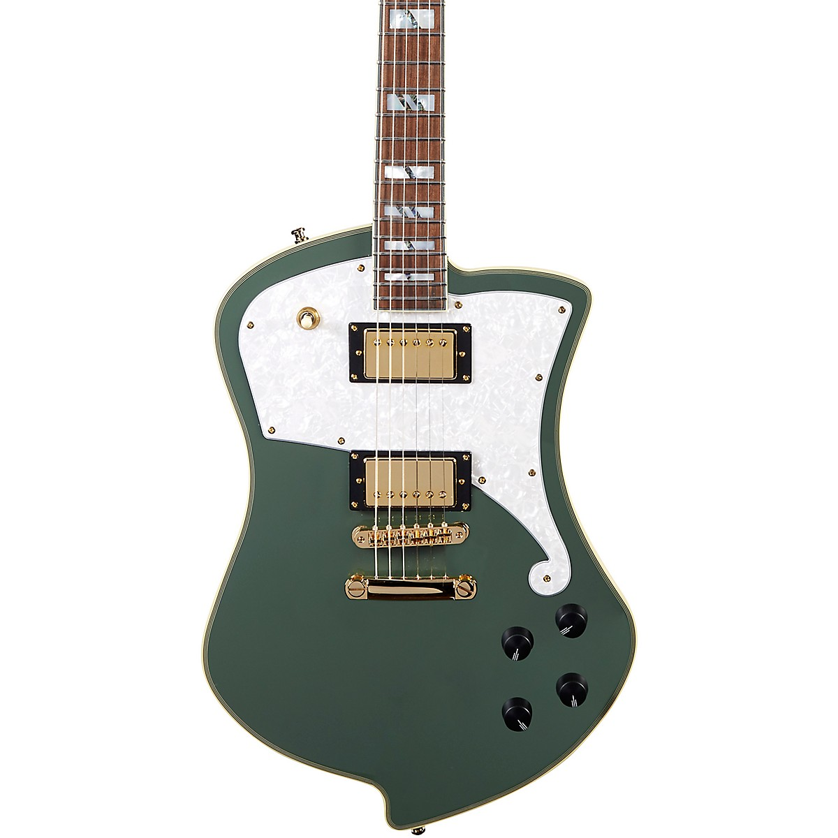 D'Angelico Deluxe Series Ludlow Electric Guitar with Stopbar Tailpiece