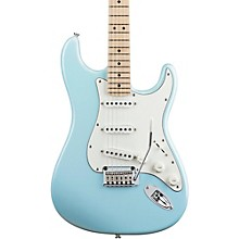 Deluxe Strat Electric Guitar Daphne Blue
