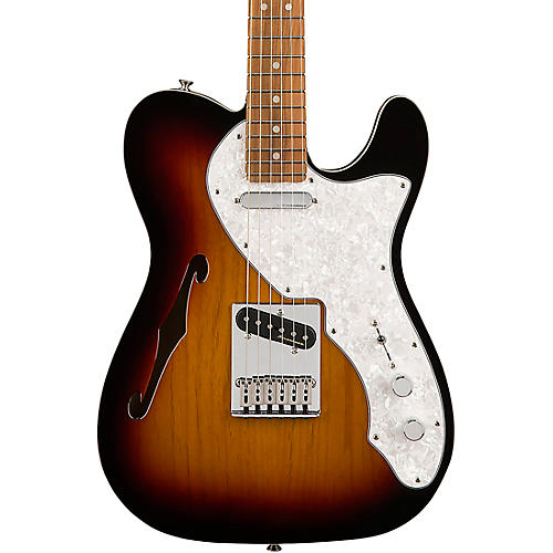 Fender Deluxe Telecaster Thinline Pau Ferro Fingerboard Electric Guitar