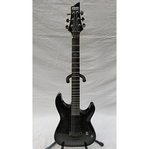 used schecter guitar research demon 6 fr solid body electric guitar trans black guitar center. Black Bedroom Furniture Sets. Home Design Ideas