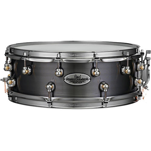 Pearl Dennis Chambers Milled Aluminum Snare Drum