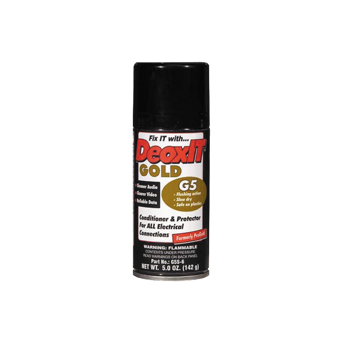 CAIG DeoxIT Gold G5 Spray Contact Conditioner 5 oz.