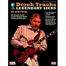 Cherry Lane Derek Trucks Legendary Licks Book/CD