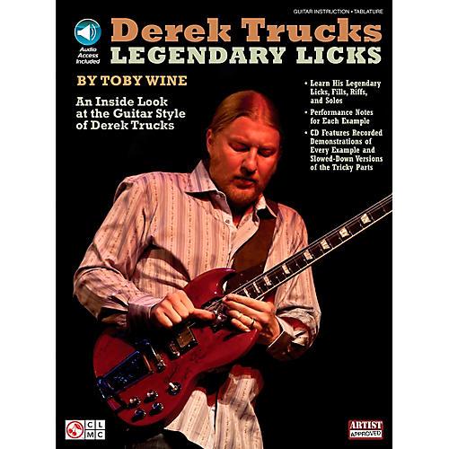 Cherry Lane Derek Trucks Legendary Licks Book/CD