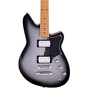 Descent RA Maple Fingerboard Baritone Electric Guitar Silver Burst