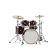 Design Series 5-Piece Lacquer Shell Pack with Chrome Hardware Level 1 Cherry Stain