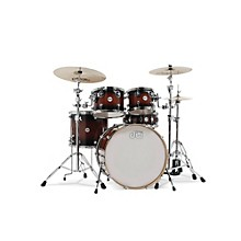 Design Series 5-Piece Lacquer Shell Pack with Chrome Hardware Tobacco Burst