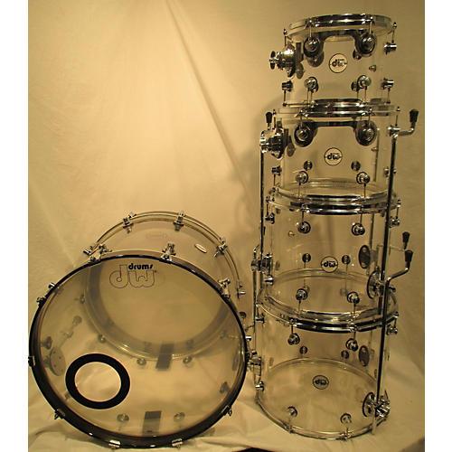 DW Design Series Acrylic Drum Kit