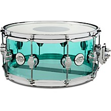 Design Series Acrylic Snare Drum 14 x 6.5 in. Sea Glass