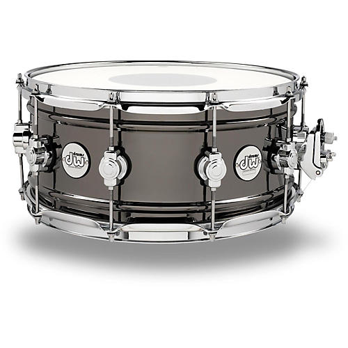 DW Design Series Black Nickel over Brass Snare Drum