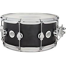 Design Series Maple Snare Drum, Chrome Hardware 14 x 6.5 in. Iron Satin Metallic