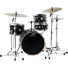 Design Series Mini-Pro 4-Piece Shell Pack Satin Black