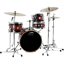 Design Series Mini-Pro 4-Piece Shell Pack Tobacco Burst