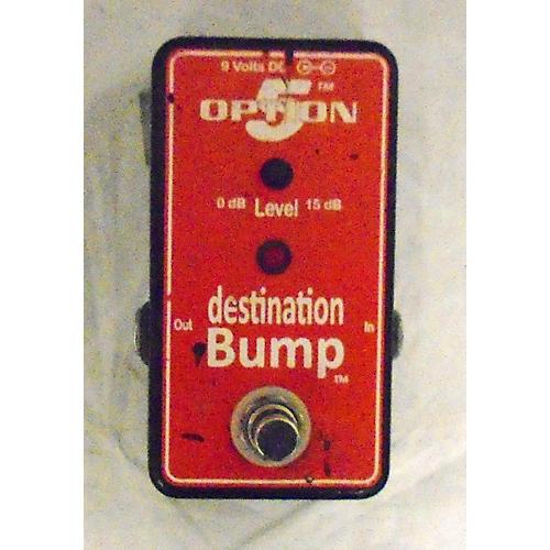 OPTION 5 Destination Bump Boost Effect Pedal