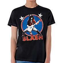Slash Deteriorated Stars T-Shirt
