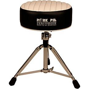 pork pie deuce tuck and roll round drum throne guitar center. Black Bedroom Furniture Sets. Home Design Ideas