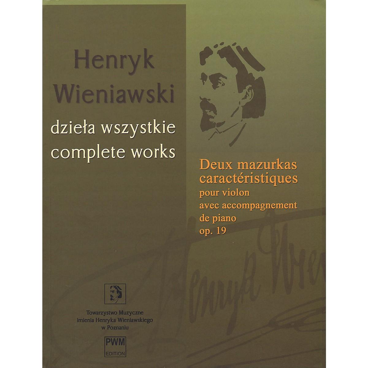 PWM Deux mazurkas caractéristiques pour violon, op. 19 PWM Series Softcover