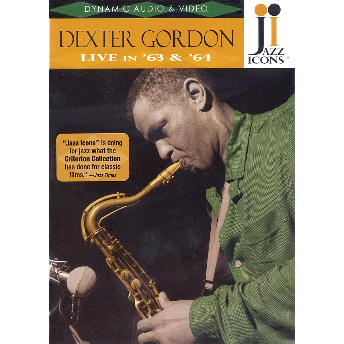 Jazz Icons Dexter Gordon - Live in '63 and '64 Live/DVD Series DVD Performed by Dexter Gordon