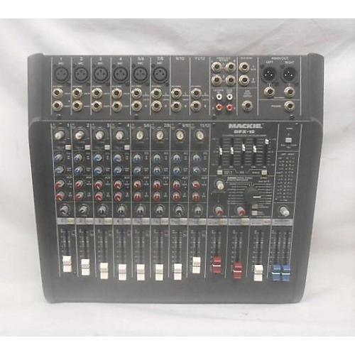 Mackie Dfx-12 Powered Mixer