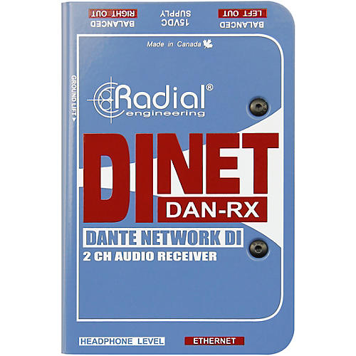 Radial Engineering DiNET DAN-RX Direct Box