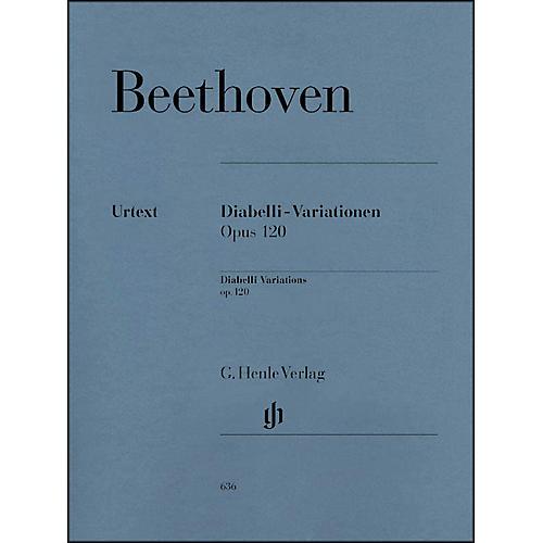 G. Henle Verlag Diabelli-Variations Op. 120 By Beethoven