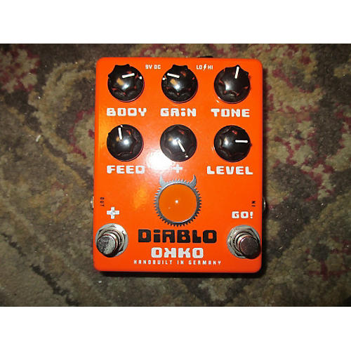 Diablo Gain + Effect Pedal