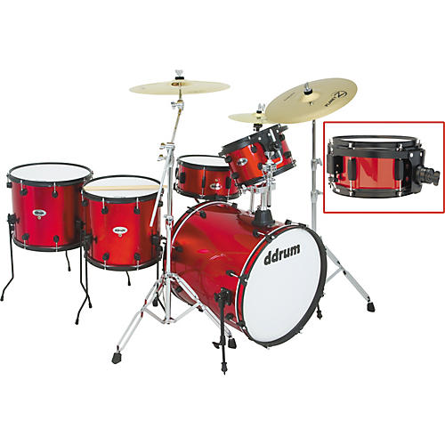Ddrum Diablo Punx 5-Piece Drum Set with Side Snare Devious