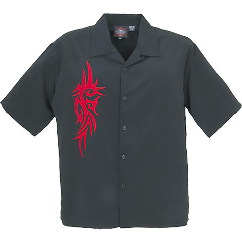 Dragonfly Clothing Diamond Embroidered Woven Shirt