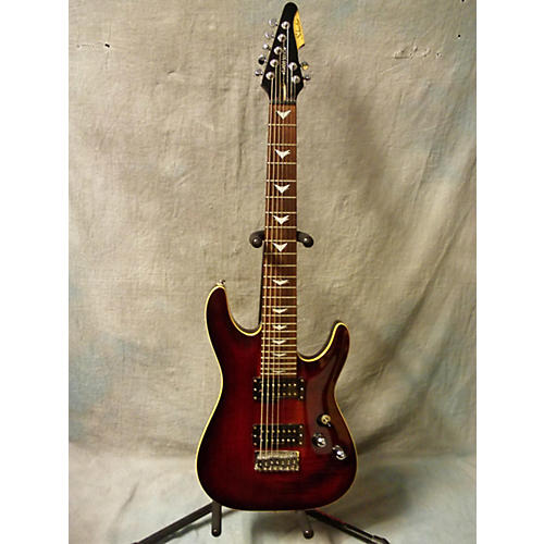 Schecter Guitar Research Diamond Series C7+ 7 String Solid Body Electric Guitar