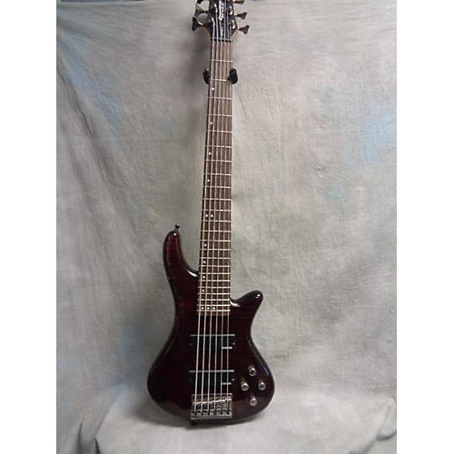 used schecter guitar research diamond series gryphon 6 electric bass guitar guitar center. Black Bedroom Furniture Sets. Home Design Ideas