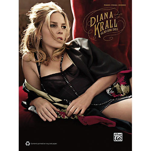 Alfred Diana Krall - Glad Rag Doll P/V/G Book