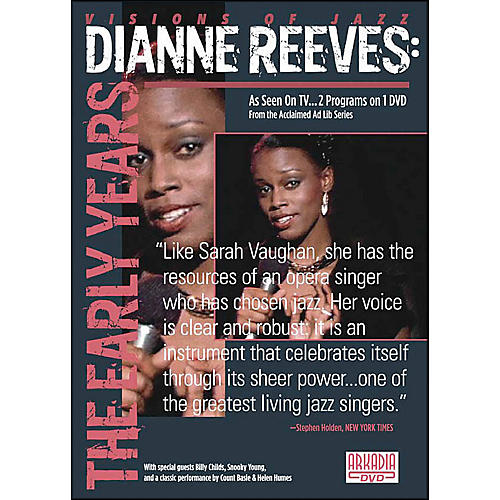 Hal Leonard Dianne Reeves: The Early Years DVD