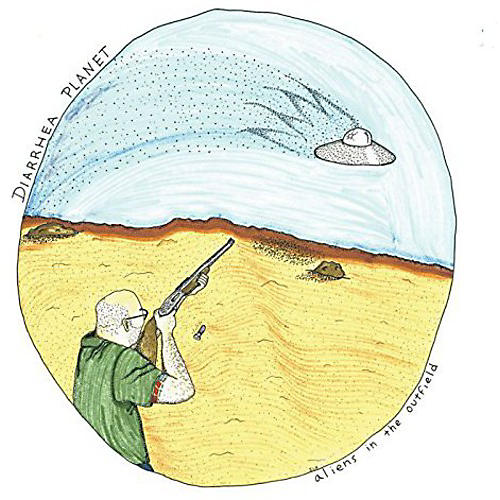 Alliance Diarrhea Planet - Aliens in the Outfield