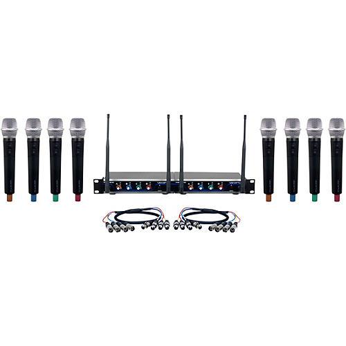 Vocopro Digital-Acapella-8 8-Channel UHF Wireless Handheld Microphone System