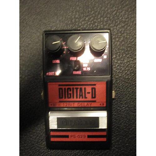 Guyatone Digital-D 12 Bit Delay Effect Pedal