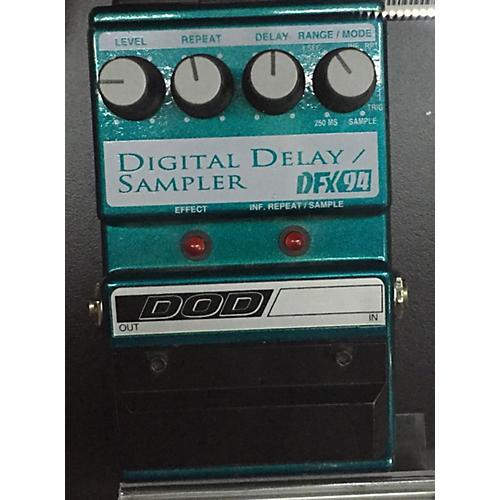 DOD Digital Delay Sampler Effect Pedal