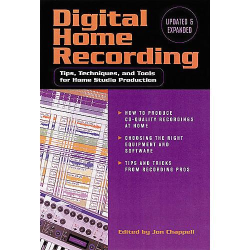 Hal Leonard Digital Home Recording, 2nd Edition Book