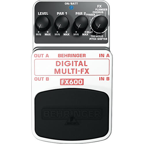 Behringer Digital Multi-FX FX600 Guitar Multi-Effects Pedal