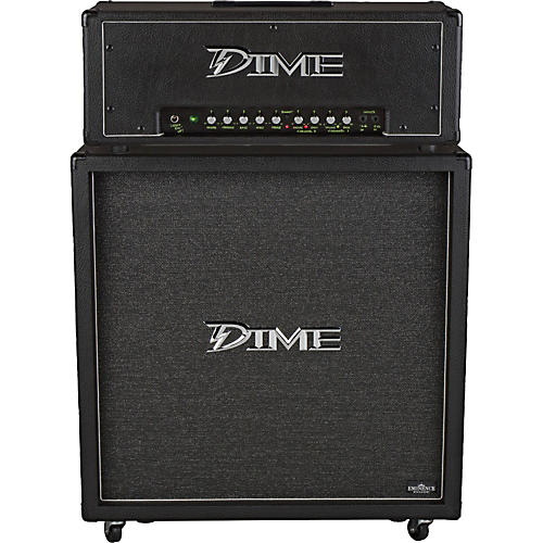 Dime Amplification Dime D100 Head and D412 Cab Half Stack