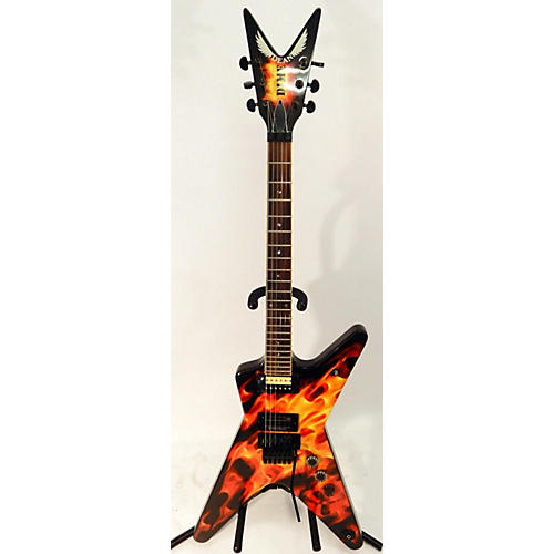 Dean Dimebag Dime O Flame Solid Body Electric Guitar