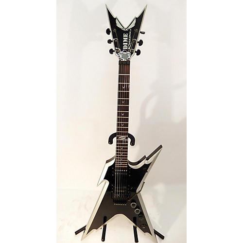 used dean dimebag razorback db solid body electric guitar black and silver guitar center. Black Bedroom Furniture Sets. Home Design Ideas