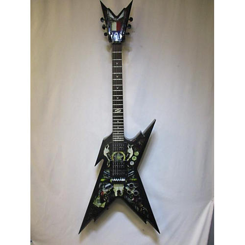 used dean dimebag razorback lone star solid body electric guitar black guitar center. Black Bedroom Furniture Sets. Home Design Ideas