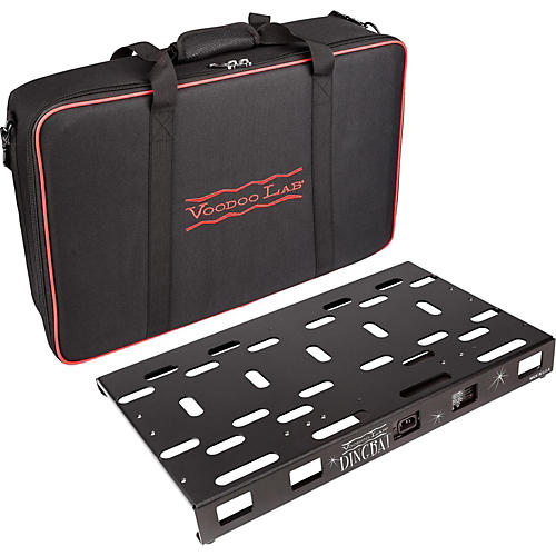 Voodoo Lab Dingbat Medium Pedalboard Power Package with Pedal Power 4x4