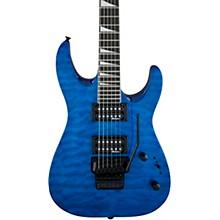 Dinky JS22 DKA Arch Top Electric Guitar Transparent Blue