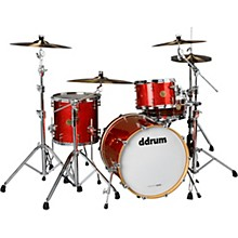 Dios 3-Piece Shell Pack Cherry Red Sparkle